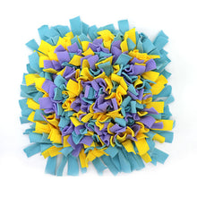 Load image into Gallery viewer, Pet Snuffle Puzzle Mat Lovin Little Greys - Scattered flowers / 45cm x 45cm