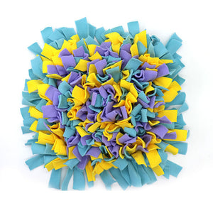 Pet Snuffle Puzzle Mat Lovin Little Greys - Scattered flowers / 45cm x 45cm