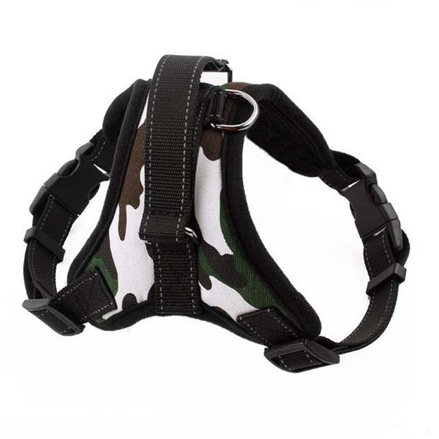 Reflective K9 Adjustable Dog Harness Lovin Little Greys - Camouflage / XL