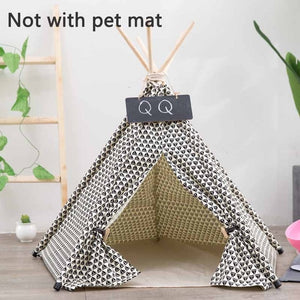 Teepee Dog Bed Lovin Little Greys - Without petmat / S: 40x40x50cm
