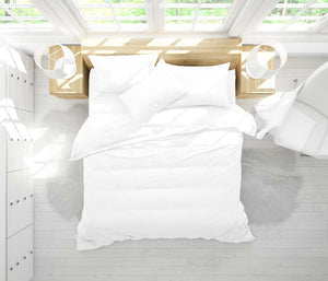 Tencel Bedding Set in Snow White