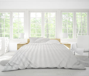 Easy Fit Duvet Cover in Regency Stripe