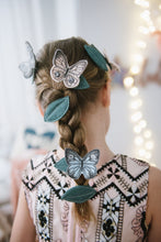 Load image into Gallery viewer, Blush Butterfly + Leaf Clips - Baby Jives Co