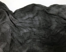 Load image into Gallery viewer, Organic Cotton Swaddle - Charcoal Watercolor Naturally Dyed (WH) - Baby Jives Co