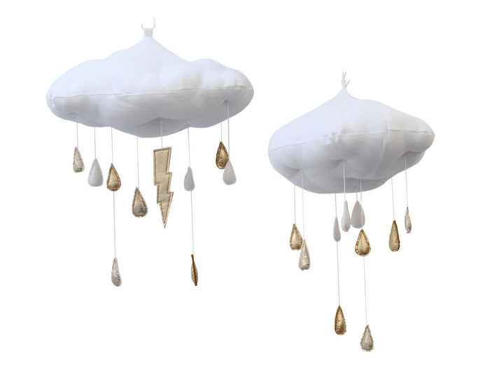 Luxe Gold + Ivory Color Fade Raincloud WH - Baby Jives Co