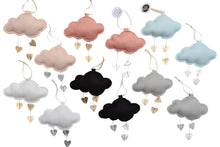 Load image into Gallery viewer, LUXE Mini Heart Cloud VARIETY PACK WH - Baby Jives Co