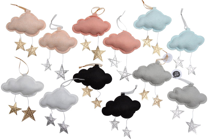 LUXE Mini Star Cloud VARIETY PACK WH - Baby Jives Co
