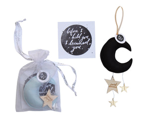 Luxe Mini Moon Keepsake WH - Baby Jives Co