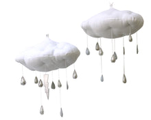 Load image into Gallery viewer, Luxe Silver + Gray Color Fade Raincloud WH - Baby Jives Co