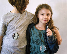 Load image into Gallery viewer, Strong like a Dragon - Necklace or Pin - Baby Jives Co