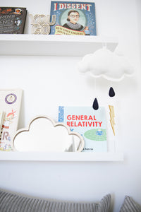 Black Storm Wall Hung Cloud Mobile (WH) - Baby Jives Co