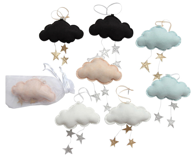 LUXE Wall Hung Star Cloud Mobiles VARIETY PACK WH - Baby Jives Co