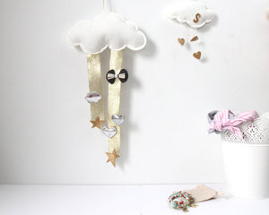 Cloud Hair Clip Organizer - Baby Jives Co