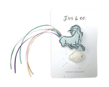 Load image into Gallery viewer, Blue Unicorn + Cloud Clips - Baby Jives Co