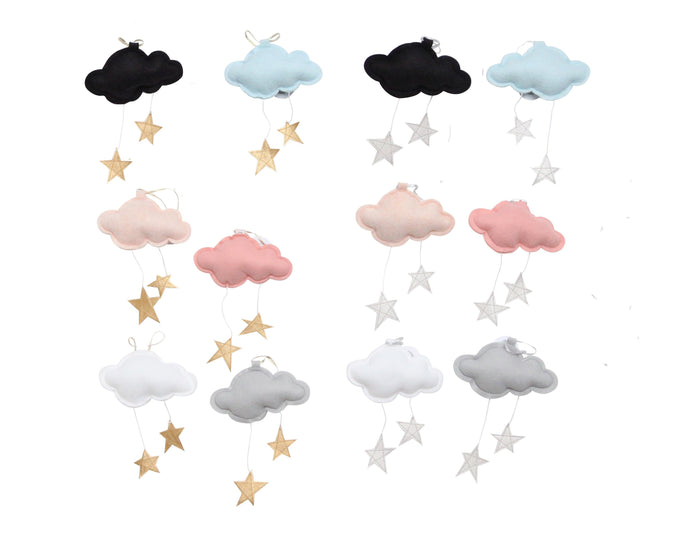 Standard Mini Star Clouds VARIETY PACK WH - Baby Jives Co