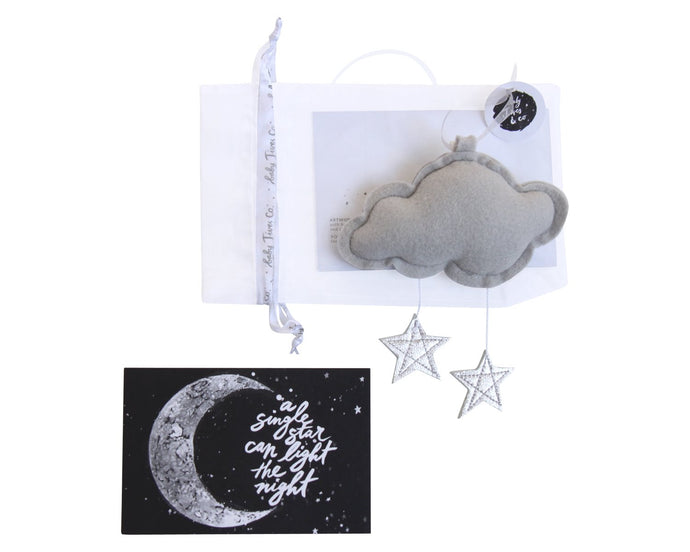 Luxe Mini Star Cloud WH - Baby Jives Co