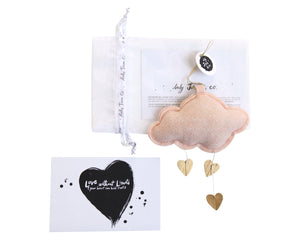 Standard Mini Heart Clouds VARIETY PACK WH - Baby Jives Co
