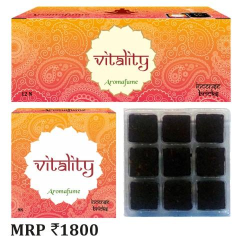 VITALITY - EXOTIC INCENSE BRICKS - Dandelion Lifestyle