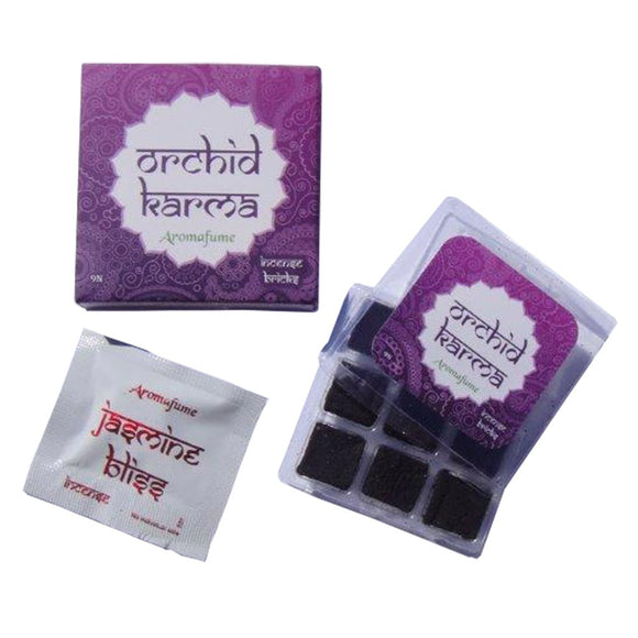 ORCHID KARMA - EXOTIC INCENSE BRICKS - Dandelion Lifestyle