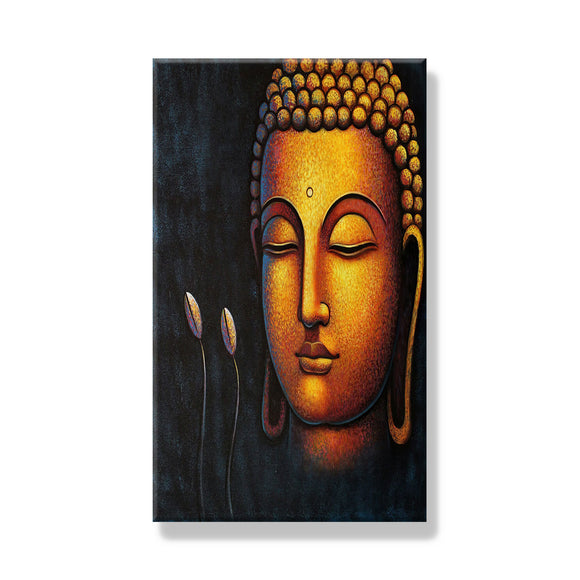 Buddha Face with Buds Frame - Dandelion Lifestyle