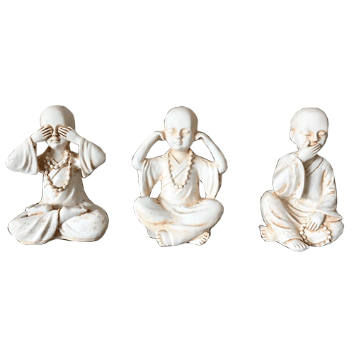 3 Wise Monks