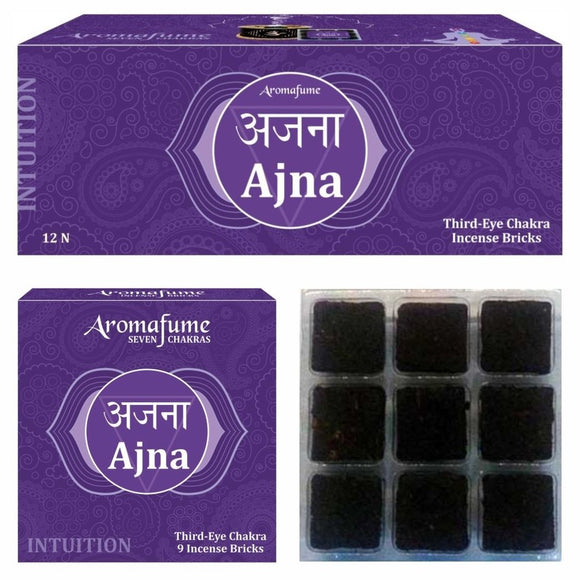 AJNA - THIRD EYE CHAKRA - EXOTIC INCENSE BRICKS - Dandelion Lifestyle