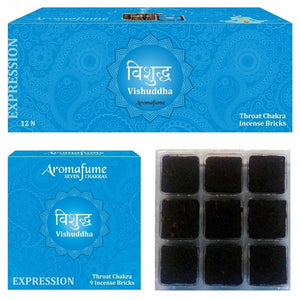 VISHUDDHA - THROAT CHAKRA - EXOTIC INCENSE BRICKS - Dandelion Lifestyle