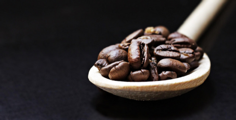 using coffee beans to make coffee oil