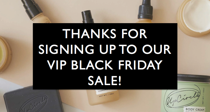 vip black friday sale early access