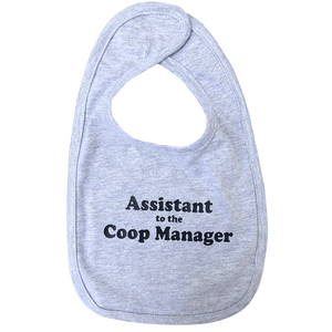 Infant Premium Jersey Bib, Assistant to the Coop Manager