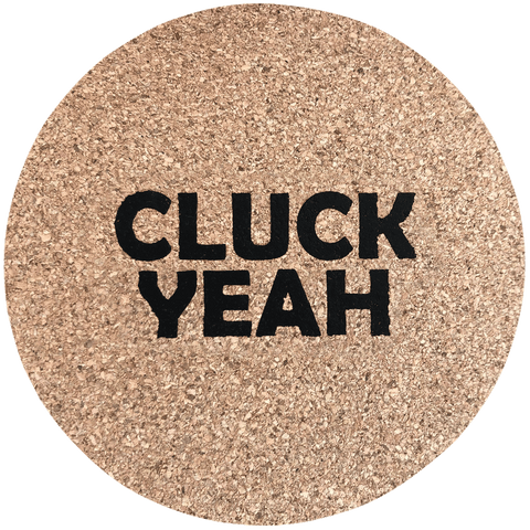 Coaster, Cluck Yeah, Set of 4