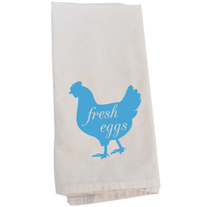 Kitchen Towel, Fresh Eggs