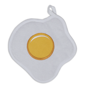 Fried Egg-Shaped Potholder