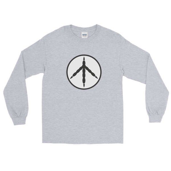 T-Shirt, Long Sleeve Men's, Chicken Peace