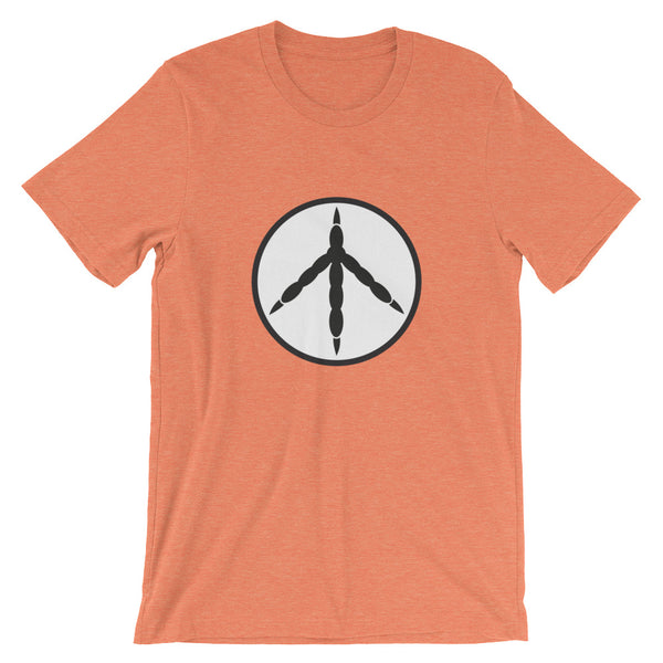 T-Shirt, Unisex Short-Sleeve, Chicken Peace