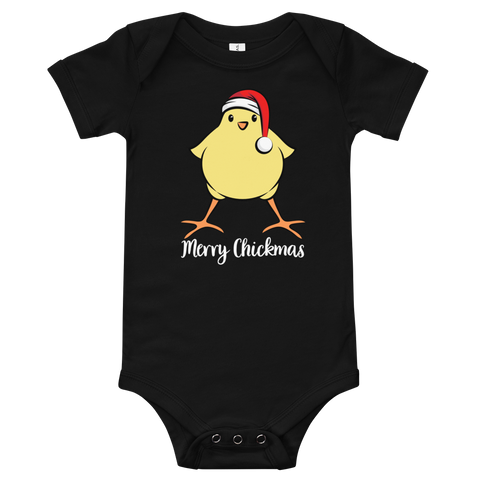 T-Shirt, Baby One-Piece, Merry Chickmas