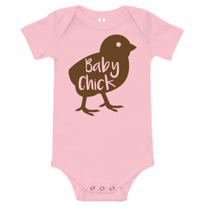 Baby Chick, Short-Sleeve One-Piece Body Suit