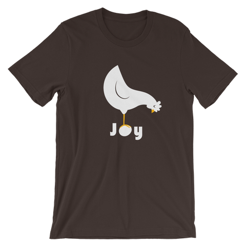 T-Shirt, Short-Sleeve Unisex, Joy
