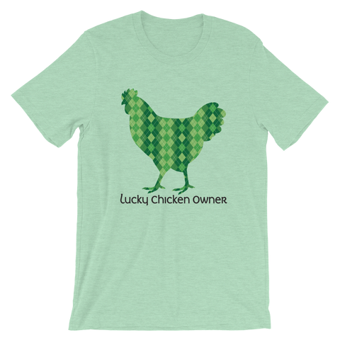 T-Shirt, Short-Sleeve Unisex, Celtic Argyle Chicken