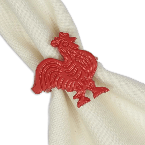 Red Rooster Napkin Ring
