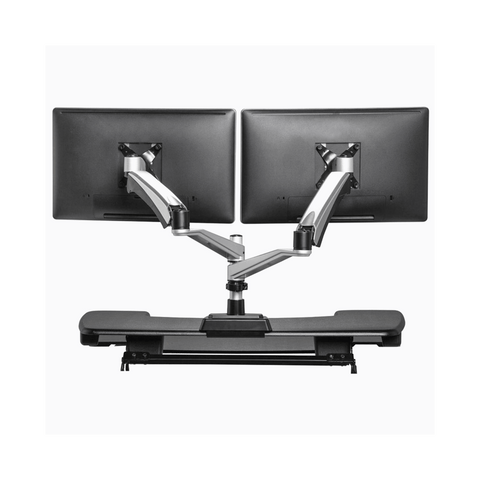 Varidesk Dual Arm Monitor Stand