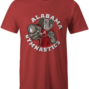 Bama Gymnastics Big AL Crimson Tee