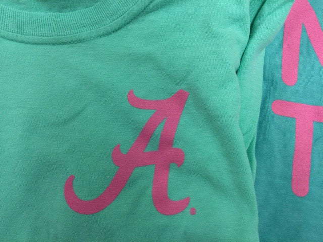 Bama Gymnastics Youth Tic-Tac-Toe T Shirt