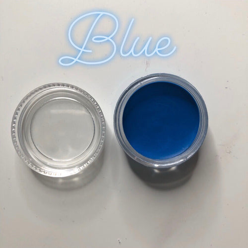 Blue Paint Pot