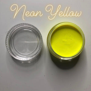 Neon Yellow Paint Pot