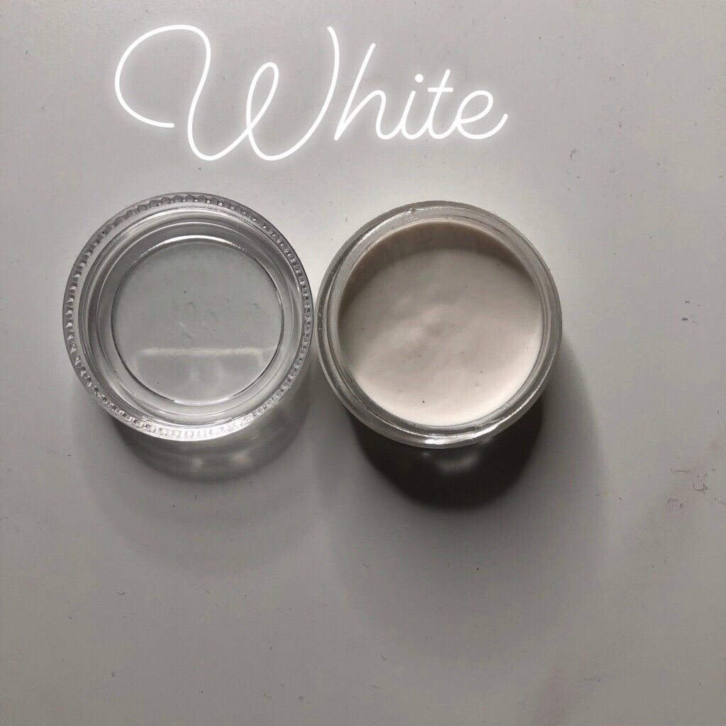 White Paint Pot