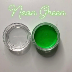 Neon Green Paint Pot
