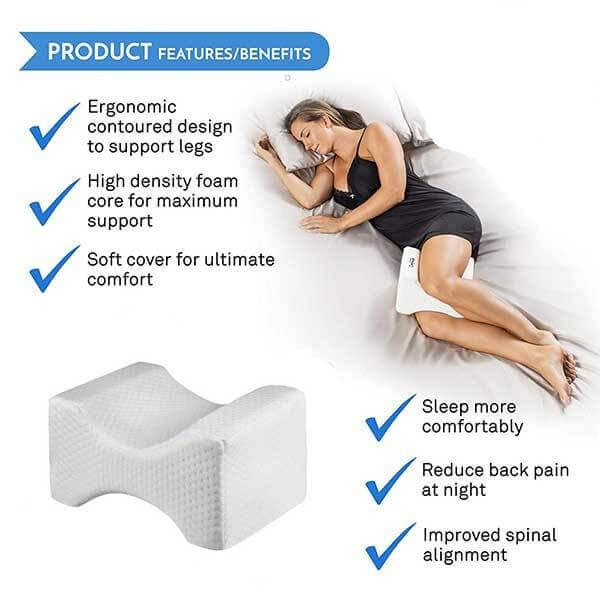 T-Back Memory Foam Pillow - NEW PRODUCT for Hip & Back Pain