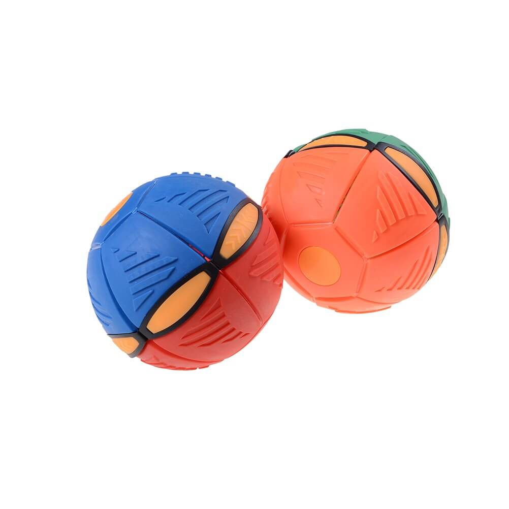 UFO Ball - From Flat Frisbee & Change Its Shape To Ball (BUY MORE SAVE MORE)