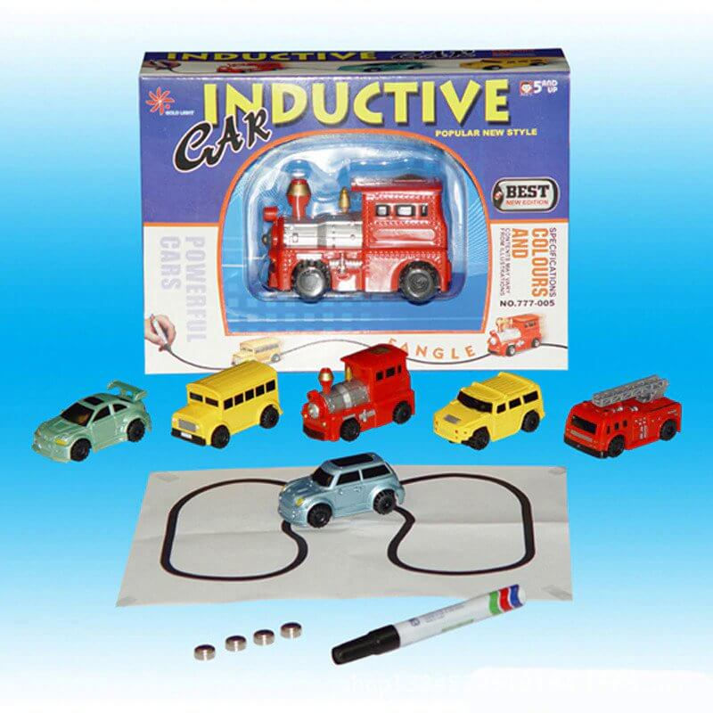 NEW Magic Toy Vehicle - It Follow The Line You Draw..